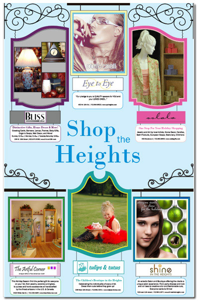 Shop the Heights Ad