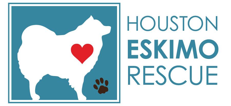 Houston Eskimo Rescue Logo Design by Lauren Blyskal